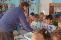 """Мастер-класс для детей по нетрадиционной технике рисования """"ЭБРУ"""""""